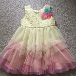 Girls 18 mo. Ombré tulle fancy dress